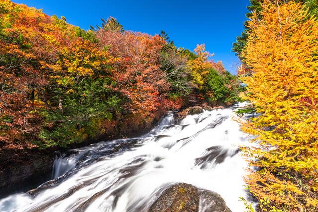 Autumn Nikko, Ryuzuno Falls